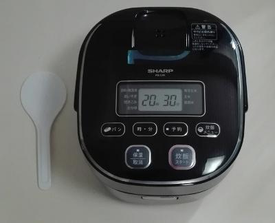 炊飯器 シャープ KS-C5K